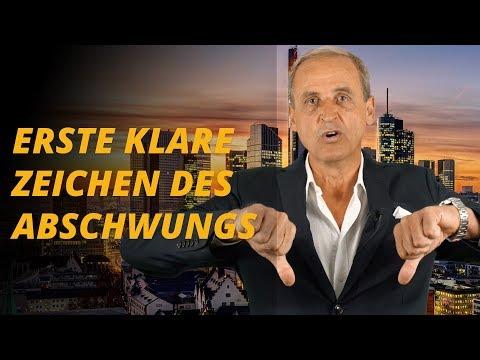 Banken und Automobilhersteller: Erste klare Zeichen des Abschwungs | Florian Homm