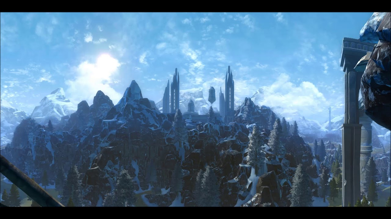 Swtor Music Alderaan Ambience Lush Forests Youtube