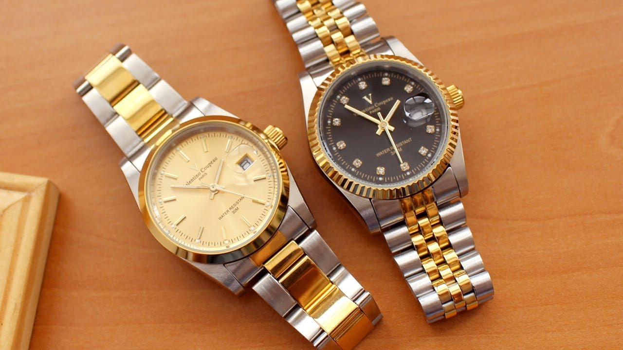 Valentino Coupeau Gold Tone Women Watch Gold Watch Mix Mary S Mart Youtube