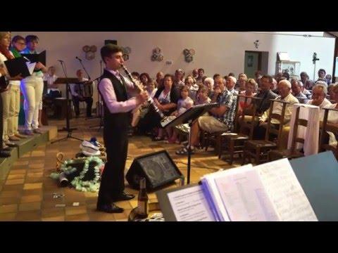 Klezmer music, clarinet and piano #1