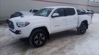 2017 Toyota Tacoma Double Cab TRD Sport Manual Transmission Detailed Review With Test Drive