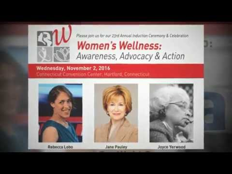 CWHF2016 Teaser - Rebecca Lobo, Jane Pauley, Joyce Yerwood