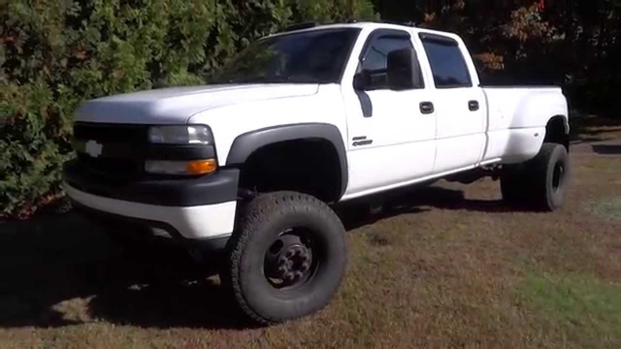 2002 Chevy Silverado Lifted >> Mint 2002 Chevy Duramax Diesel Dually - YouTube