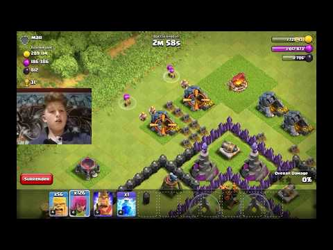 Clash of clans balloons and minions. Tony kyz. Greek