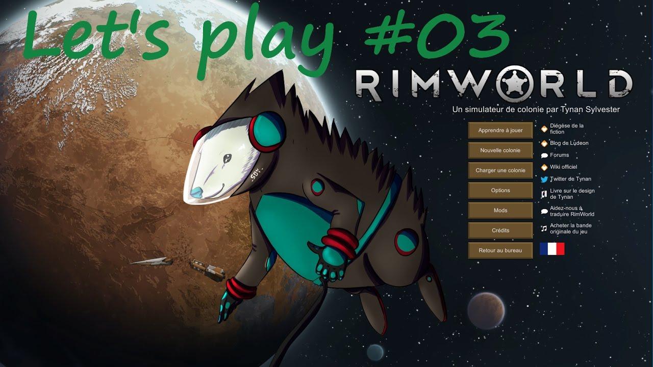 Rimworld- Alpha 16 - L'hiver approche #03 - YouTube