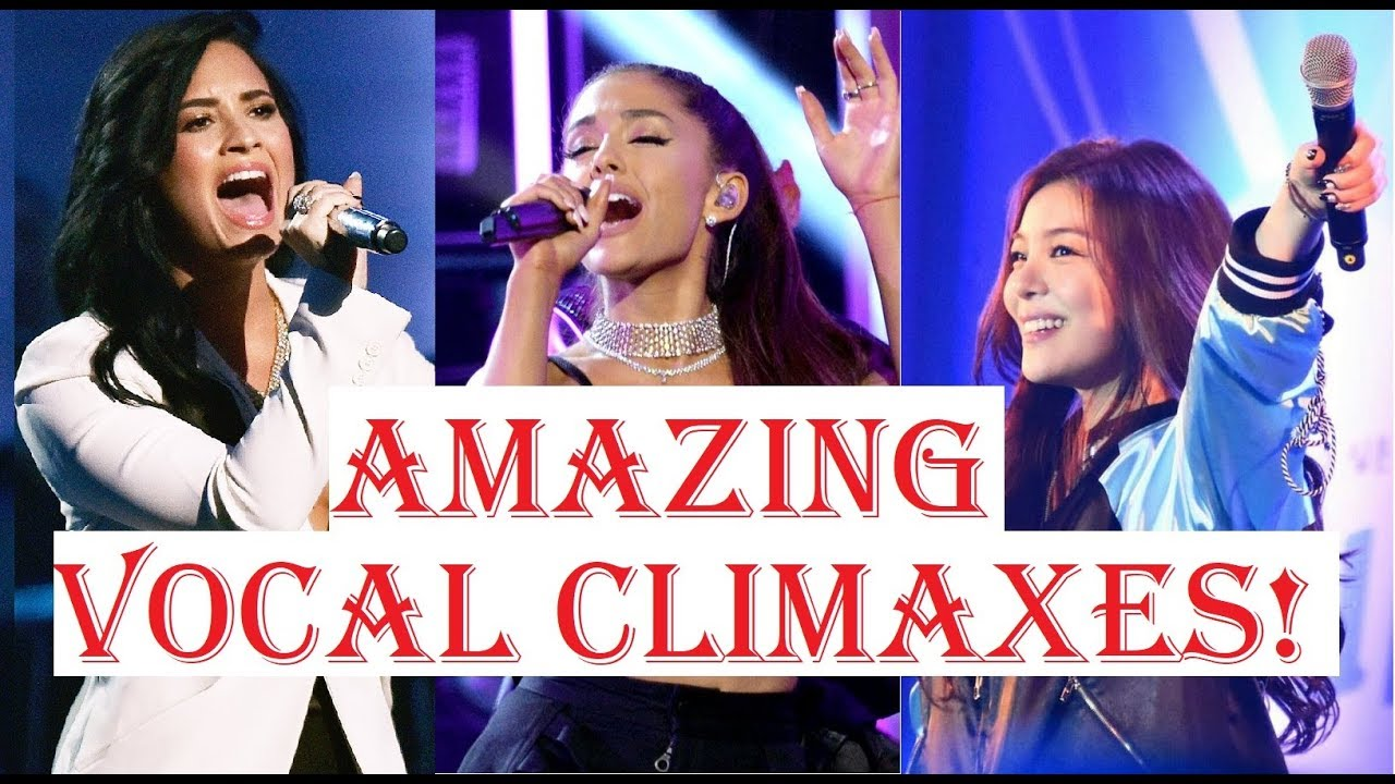 Female Singers - AMAZING VOCAL CLIMAXES!!