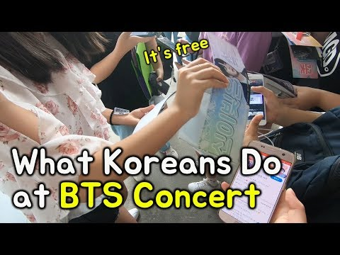 BTS Seoul Concert Experience! (Free Giveaway Heaven!!)