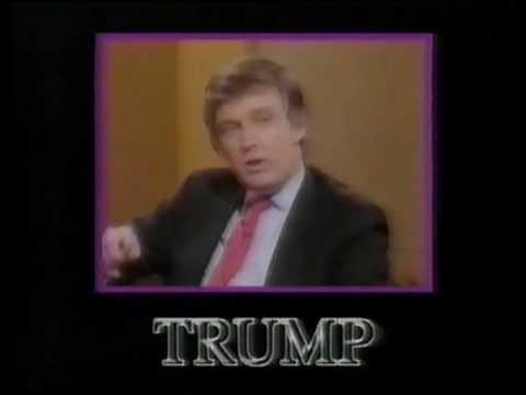 Donald Trump in 1991 (Hong Kong TVB Pearl)