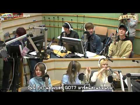 160303 [Thai Sub] Kiss The Radio with Mark, BamBam, Amber, Sana, Momo, Sorn [1/6]