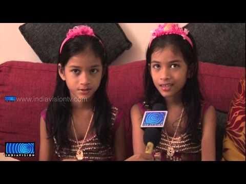 Daughters of Cochin Haneefa acting in 'Geethanjali'