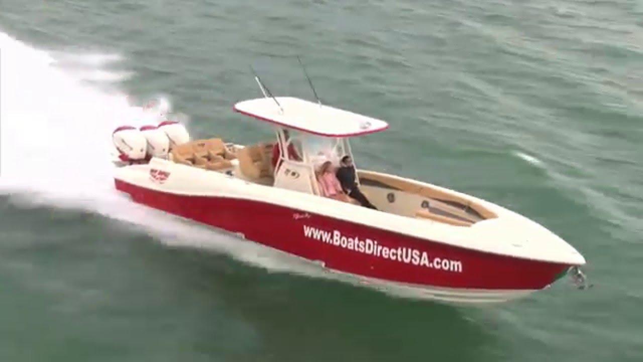 Deep Impact Boats >> Deep Impact Custom Boats - Luxury Performance Center Consoles - YouTube