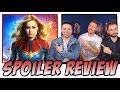 Captain Marvel -  Spoiler Review (w/ Zach Pope & Men Vs Movies)