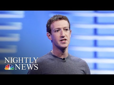 Facebook Data Harvesting Scandal May Have Widened To 87 Million People | NBC Nightly News