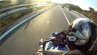 GIXXER 1000 K8 Tandem Wheelies Vol.1 (Passenger View)