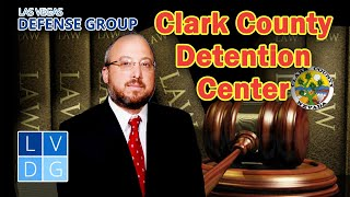 Which arrestees get booked at the CCDC in Las Vegas?
