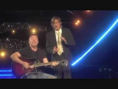 Ricky & Mackenzie singing together  Live