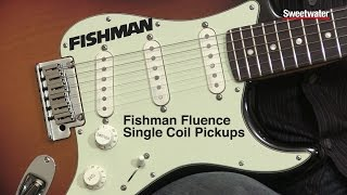 Don Carr demonstrates Fishman's Fluence Single Coil pickups with a ...