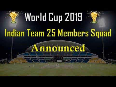 World cup 2019 indian team 25 Players Expected Squad | icc world cup 2019 india team |