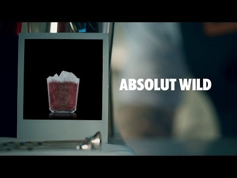 ABSOLUT WILD DRINK RECIPE - HOW TO MIX