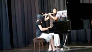 Canon in D Flute and Piano Duet.MPG