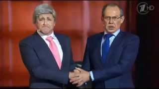 Лавров и Керри   Смешные Переговоры!