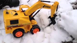 Super Power Remote Control Shovel Loader Super Rooter Excava