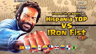 6 TH10 vs 21 TH10 en DIRECTO! Hispania TOP vs Iron Fist | Clash of Clans
