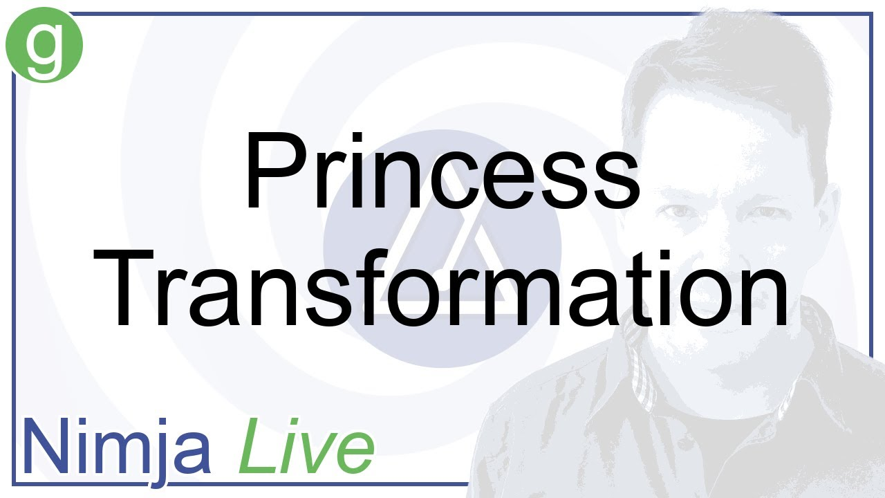Princess Transformation - Nimja Live - August 2021