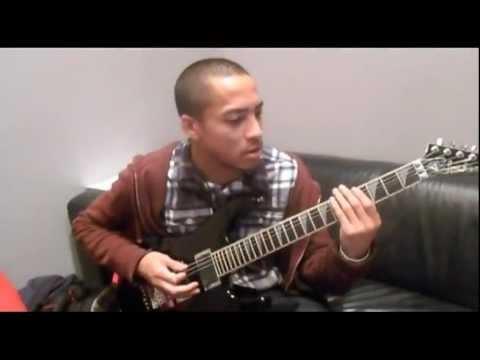 Veil of Maya: Marc Okubo Guitar Lesson - Punisher/Divide Paths Tutorial