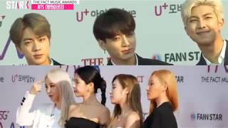 BTS and Mamamoo Moments at the Fact Music Awards 2019