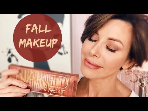 Fall Makeup Tutorial | Urban Decay Naked Heat Palette