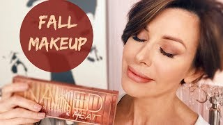 Fall Makeup Tutorial   Urban Decay Naked Heat Palette