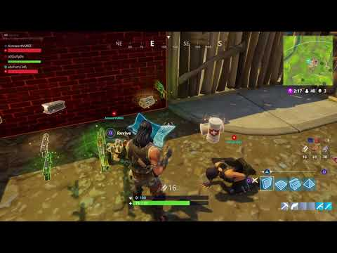 Fortnite Revive Glitch Funny Youtube