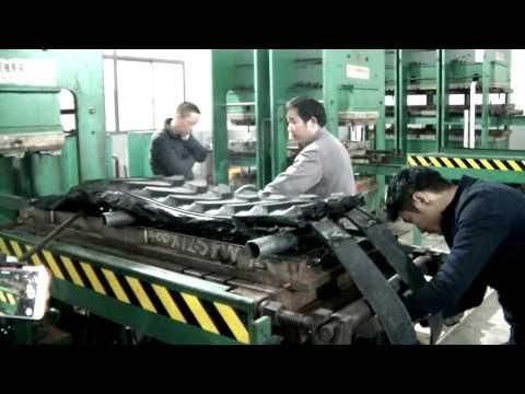 Процесс создания резиновой гусеницы Yaxol (rubber Track Creation)