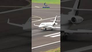 Cristiano Ronaldo Private Jet at Madeira #shorts