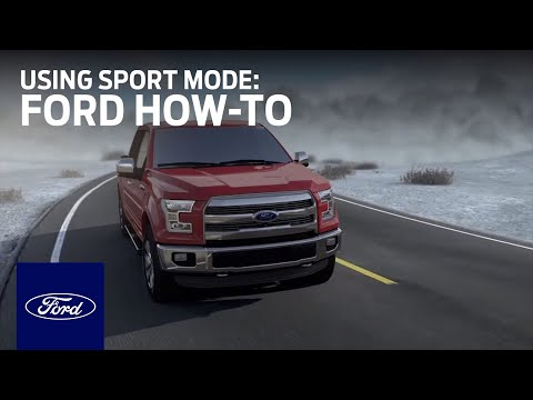 Using Sport Mode: Ford Trucks | Ford How-To | Ford