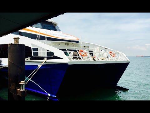 Singapore to Bintan on a Bintan Resorts Ferry Emerald Class [4K]