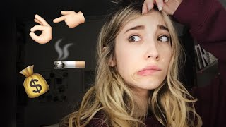 PREGUNTAS QUE HE EVADIDO    ¿Mi 1º vez? ¿Cuernos? ¿Novio? ¿Fumo?