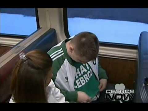 Perk rides the train