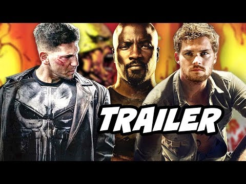 The Punisher Trailer and Luke Cage Iron Fist Heroes For Hire Confirmed