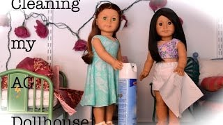 Cleaning My Ag Dollhouse!