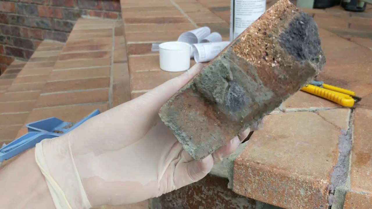 Genial How To Fix Broken Pavers, Bricks, Concrete Or Stone With Concrete Repair  Stick