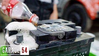 Что Если В Аккумулятор Залить Кока-Колы