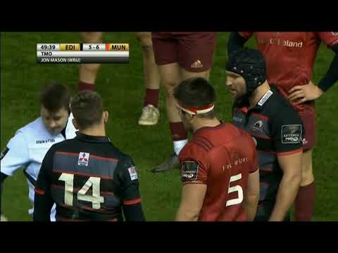 HIGHLIGHTS | Edinburgh v Munster