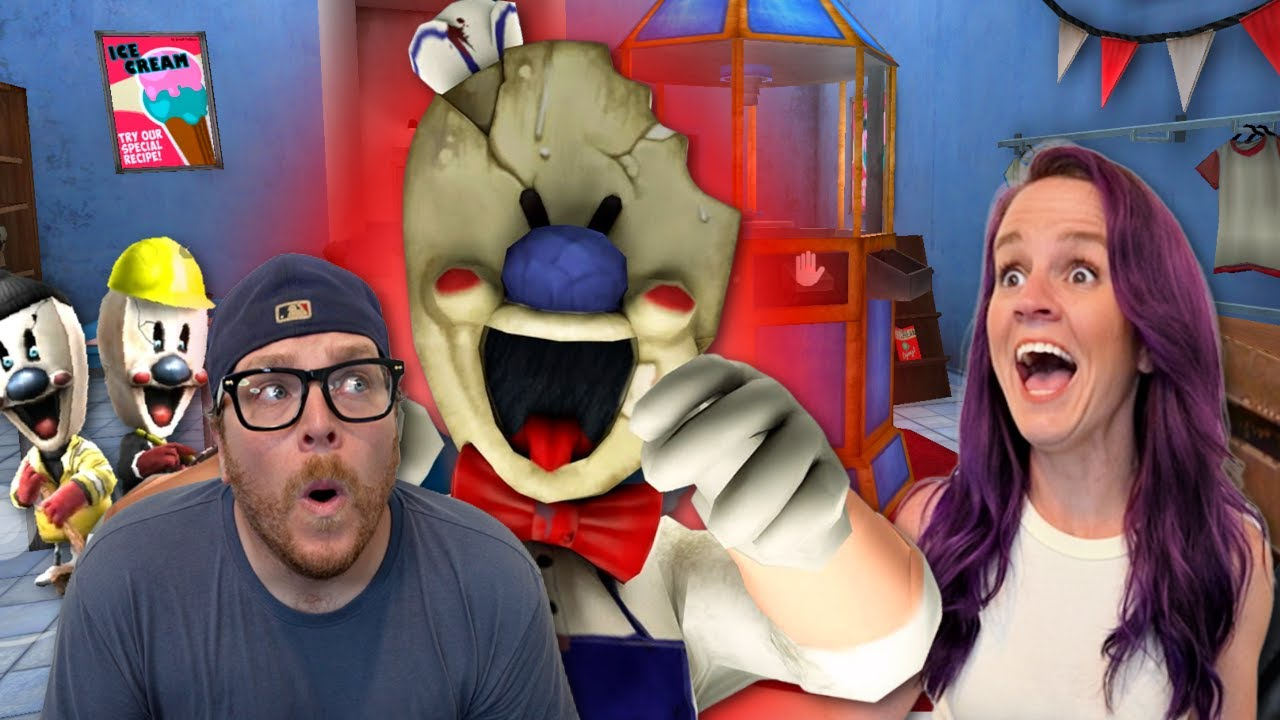 Playing Ice Scream 4 Rod's Factory for the First Time Ever