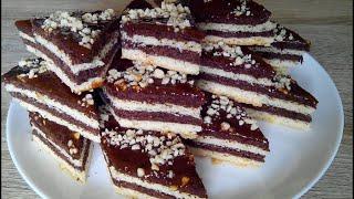 Песочный пирог с абрикосовым вареньем Sand cake with apricot jam