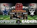 2017 LIVE! NFL Analysis | Cowboys vs. Raiders WK 15 | SNF OVERTIME #LouieTeeLive🏈🏈🏈