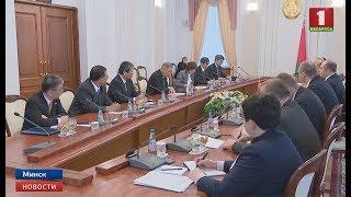 Білорусь розраховує на зростання інвестиційної активності Японії та збільшення товарообігу
