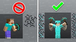 20 Secrets Only the BEST Players Know in Minecraft 1.16!