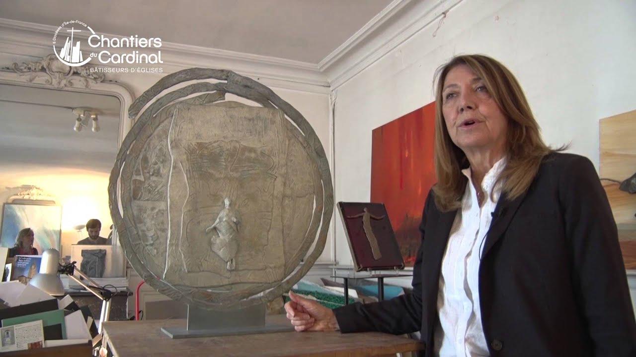 Françoise Bissara-Fréreau, un cœur pour l'art sacré - YouTube
